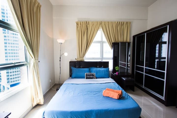 Cozy Studio near Bukit Bintang & Twin Tower 5