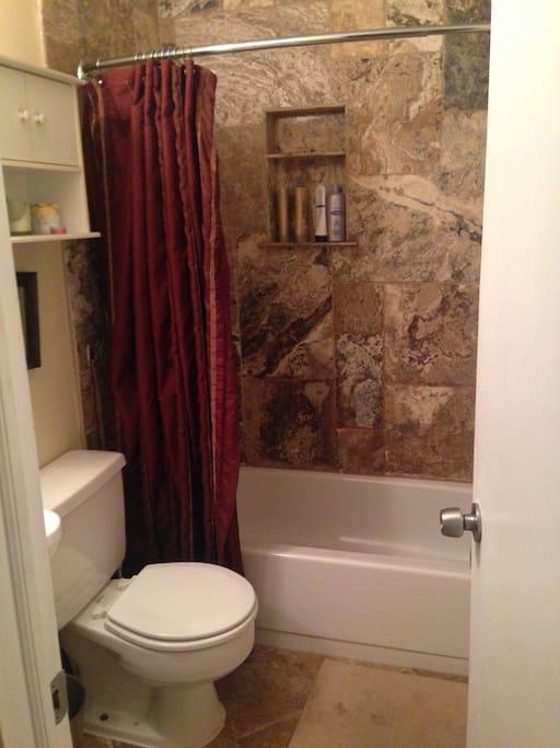 New Turkish natural stone bathroom