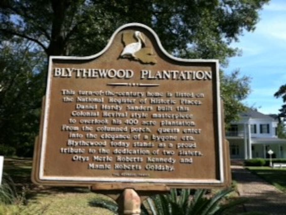 Blythewood Plantation Bed Amp Breakfasts For Rent In Amite