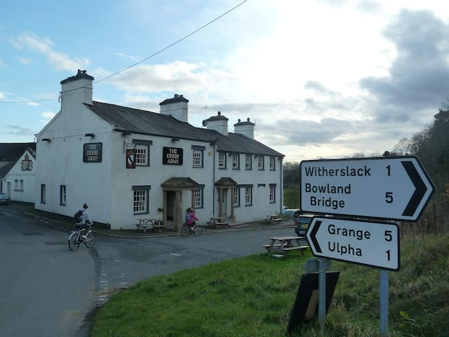 The Derby Arms at Witherslack.
