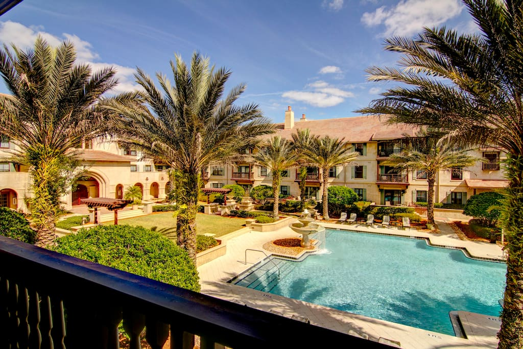 Pool View Luxury 1 Bed Apartments For Rent In St Augustine Florida United States