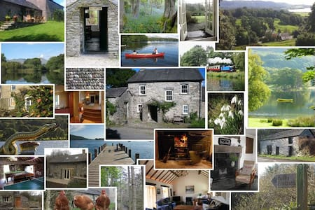 Family selfcatering large cottage - Penny Bridge - Chalet
