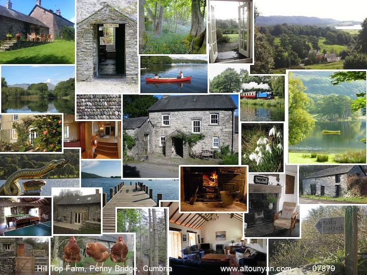Family self catering large luxury cottage upto 16