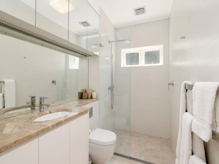 Modern clean bathroom