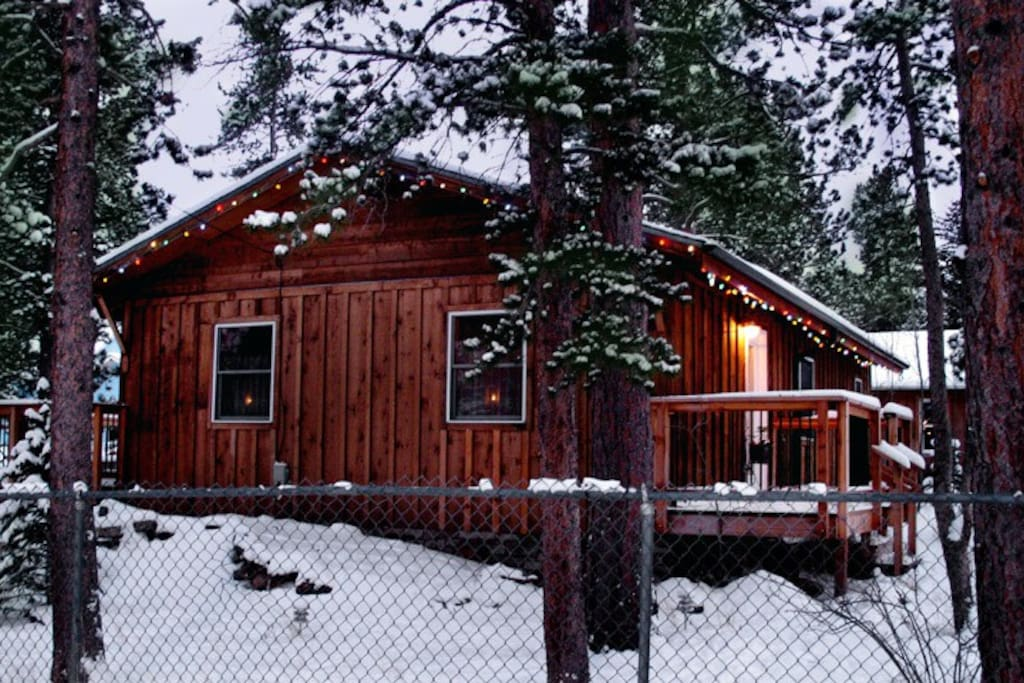 Ski Cabin In Old Town Nederland Houses For Rent In