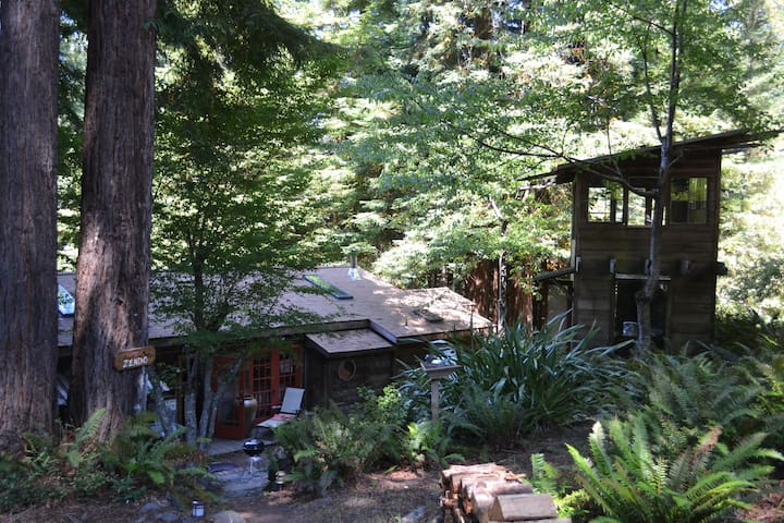 "Big River Farm - ""The Zendo"" - Mendocino - Dom"