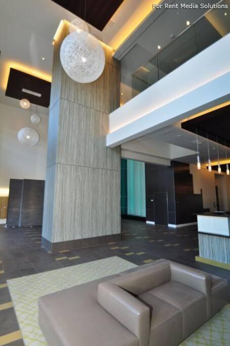 Nice lobby, huh?