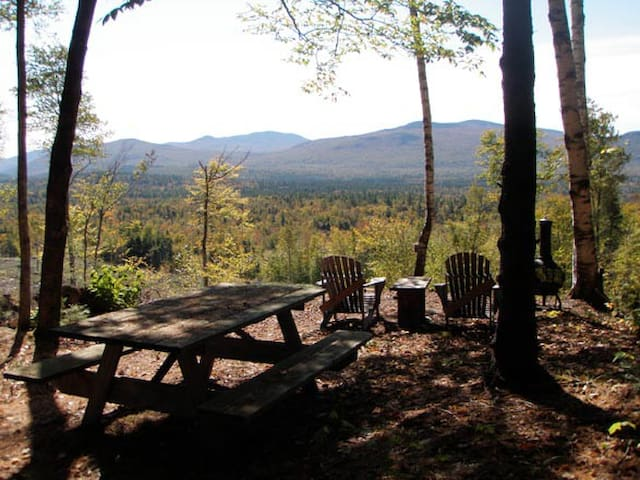 The views are breathtaking from your fire pit or picnic table