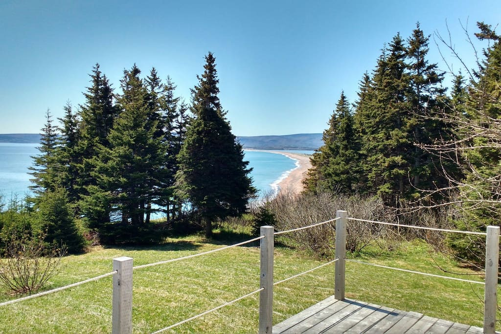 Ocean view from the front deck