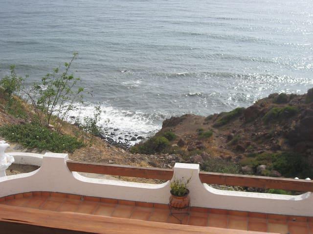 Ocean Front Condo South of Rosarito