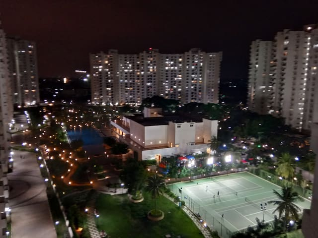 View from the Balcony (Night)