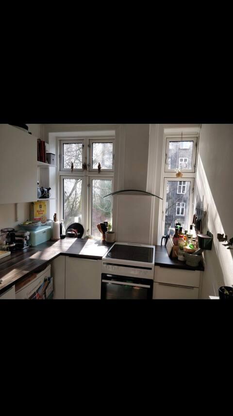 Una amenaza Nørrebro 'acogedor' Apartamento
