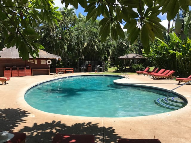 Oasis in the heart of Lahaina