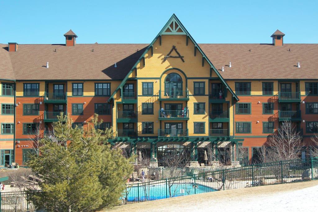Appalachian Hotel looks great!