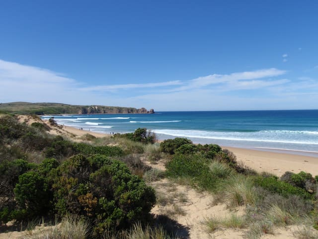 World famous Cape Woolamai surf beach Is At The End Of The Street