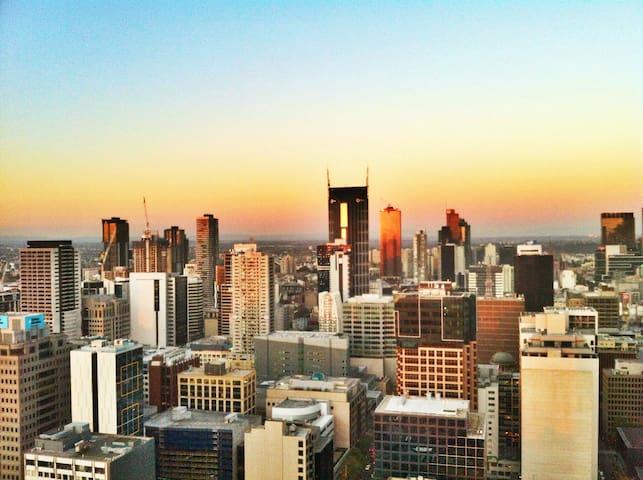 City in the Sky! - Melbourne - Apartament