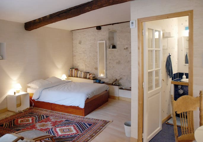 Separate bedroom near Fontainebleau - Veneux-les-Sablons - Hus