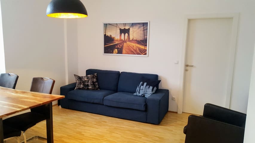 Modern apartment by the Convention Center (Messe)