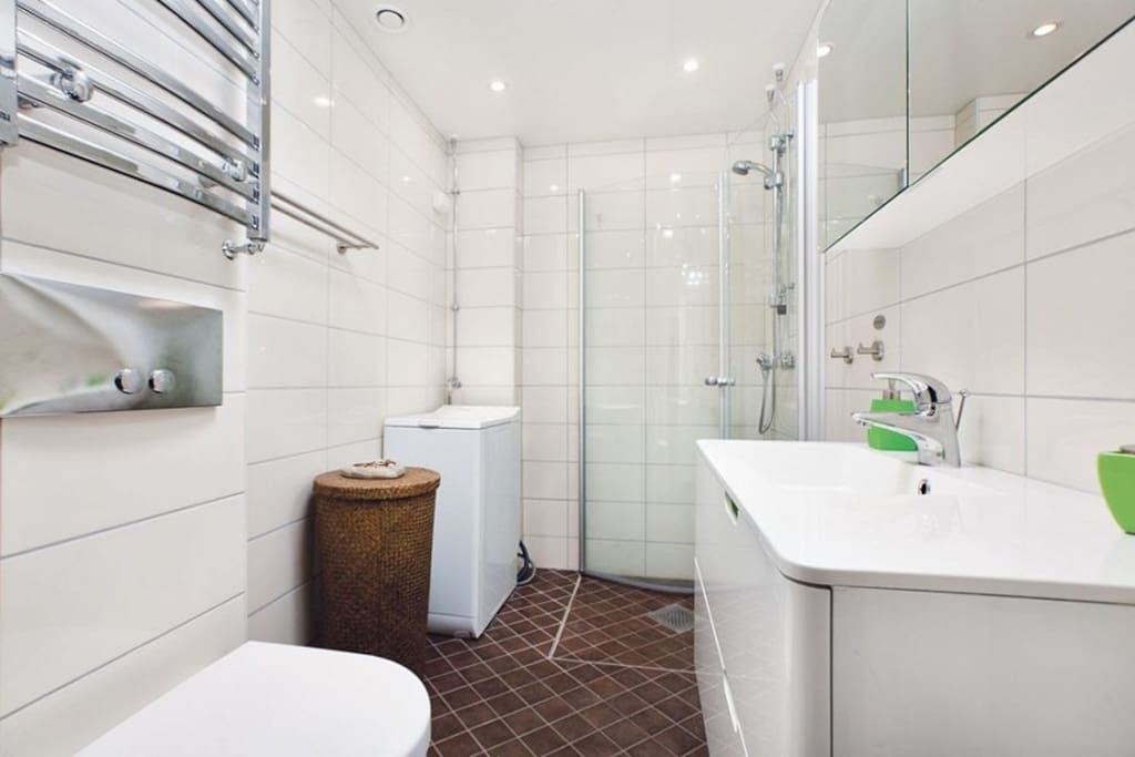 New renovated bathroom