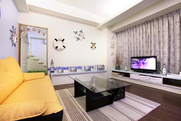 Warm House - 地中海假期 6-8人大家庭房