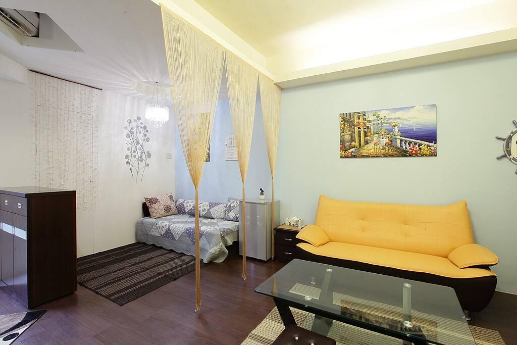 地中海假期大家庭房-客廳