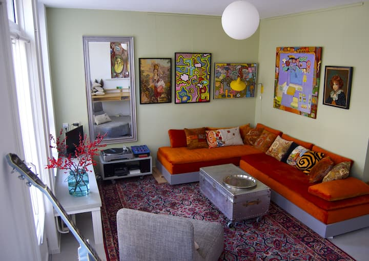 The Artist appartment.