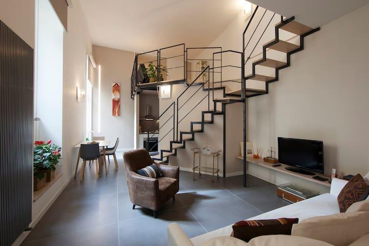 Casa del Farmacista Loft Terrazzato Centro Storico - Naples - Loft