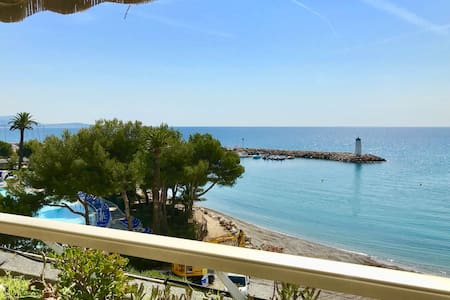 1 Bdr Marina Baie des Anges, Sea view and garage