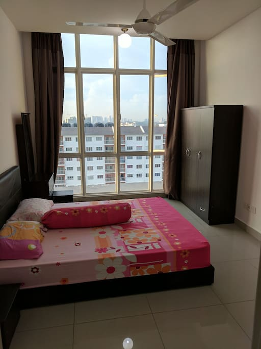 Master Bedroom (with city view)