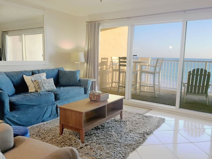A203 Gorgeous condo, very clean, right on the gulf
