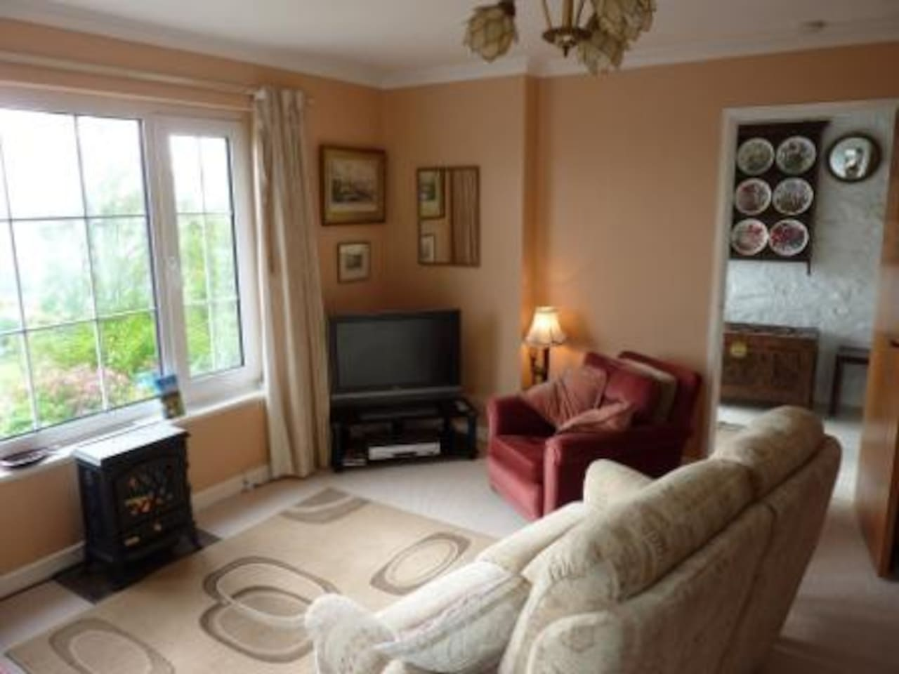 Lounge with wonderful views