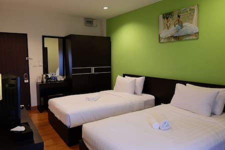 Twin Bed room - Bangkok - Appartement