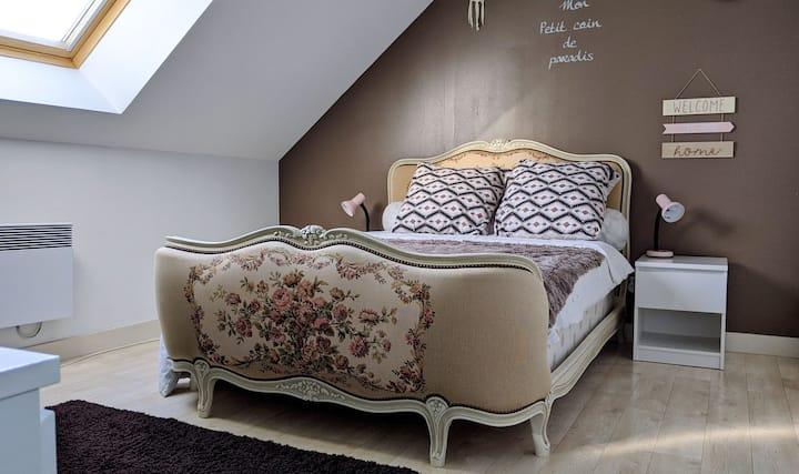 Chambre tout près des châteaux de la Loire