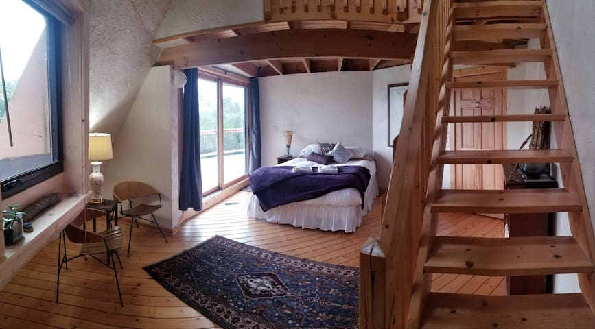 Unique dome home on 322 acres along the Hay River!