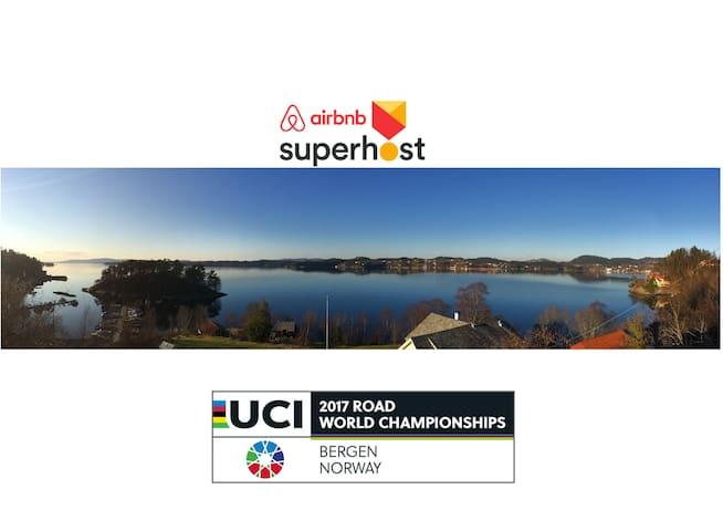 8 person apartment for 2017 UCI Road World Champ - Bergen - Apartamento