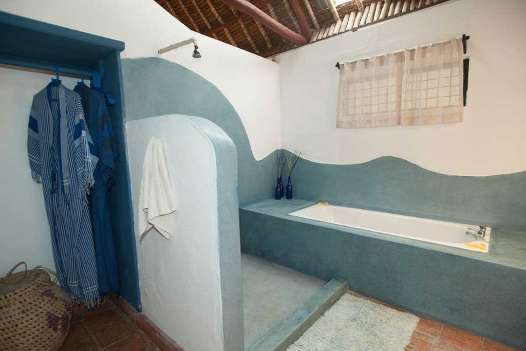 Bathtub AND shower!