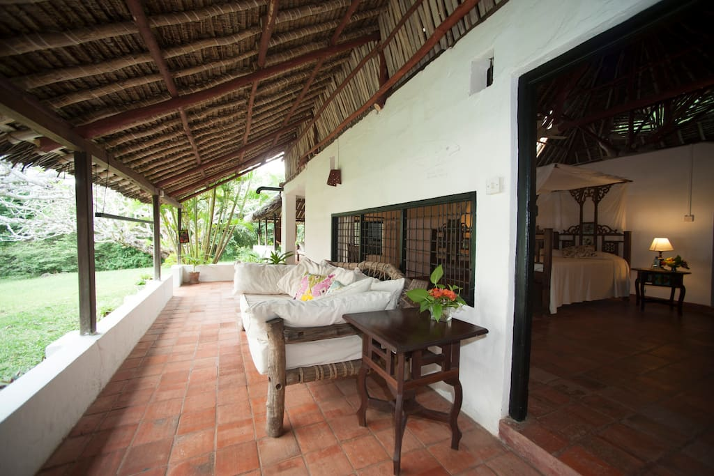 Private room with own veranda