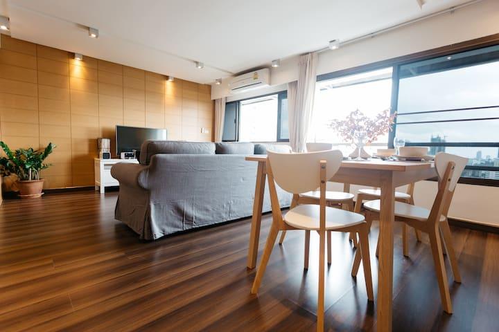 Stunning 2 Bedroom Penthouse - wattana - Apartment