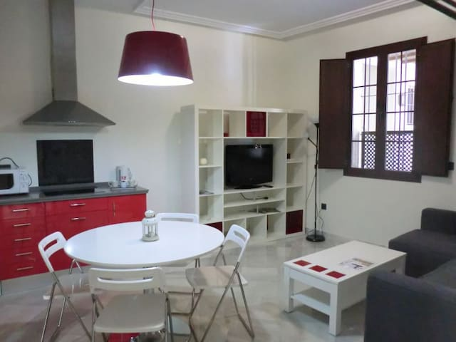 Ap. OSUNA__(1Bedroom,1sofabed) - Seville - Apartment