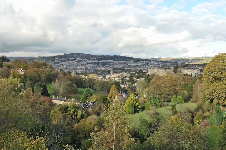 Flat with views across the city - Bath - Apartment