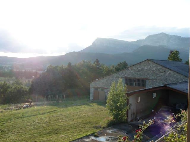 Lieu de vie partagé dans la Drôme - Saoû - Apartment