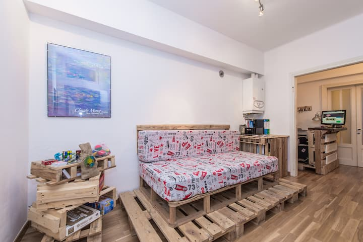 UpTown B'n'B Eco-Design Blue Room