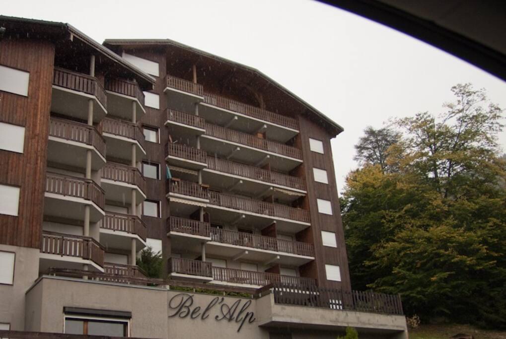 Immeuble de haut standing en plein centre de St Gervais