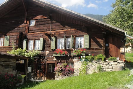 Alpenblick nord-ost - Frutigen - Huis