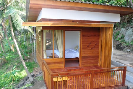 Double Fan Bungalow (2)-Garden View - Ko Pha Ngan - Blockhütte