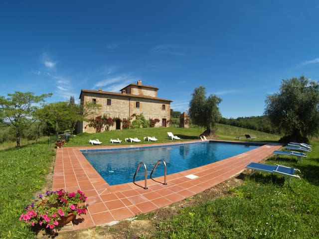 BELLAVISTA Castello di Bossi - Castelnuovo Berardenga - Lejlighed