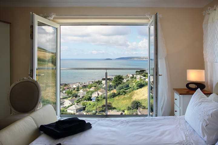 Cornish House with Stunning seaview - Downderry - Dom