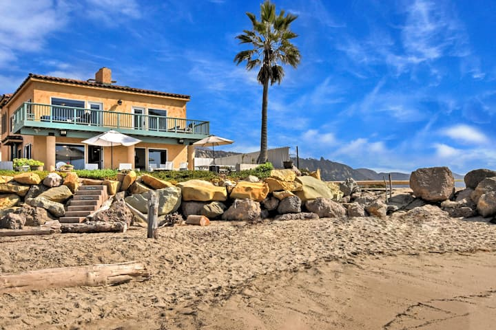 Opulent Oceanfront Home – Steps to Secluded Beach