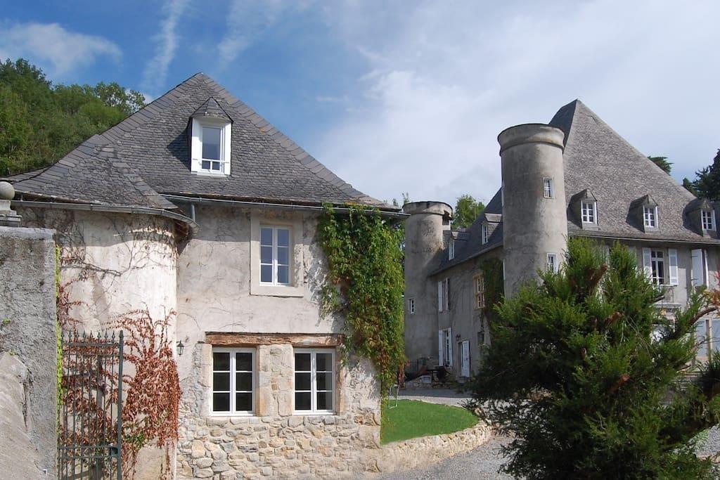 La loge du chateau de pouech case in affitto a saint for La rotonde saint girons