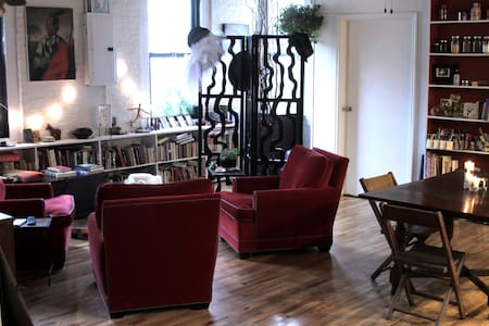 Private bedroom in awesome loft apt - Brooklyn - Apartment